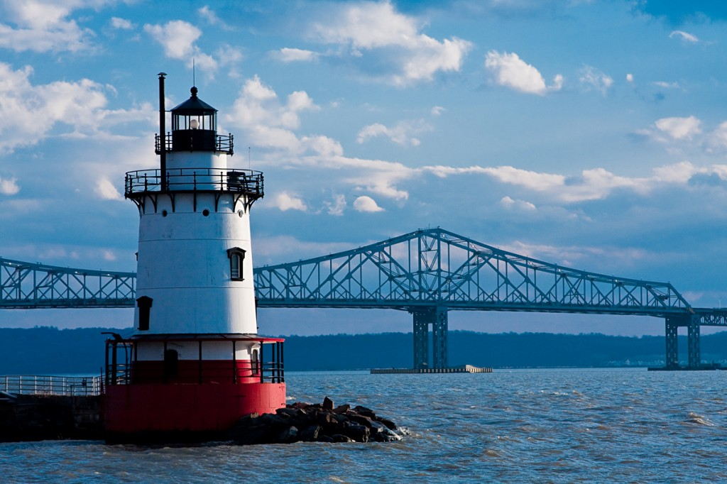 Tappan Zee Bridge and Lighthouse, Rockland County, NY